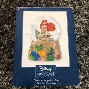 Ariel showcase water globe
